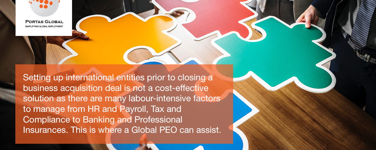 Peo Solutions During Transition Service Agreement News Portas Global
