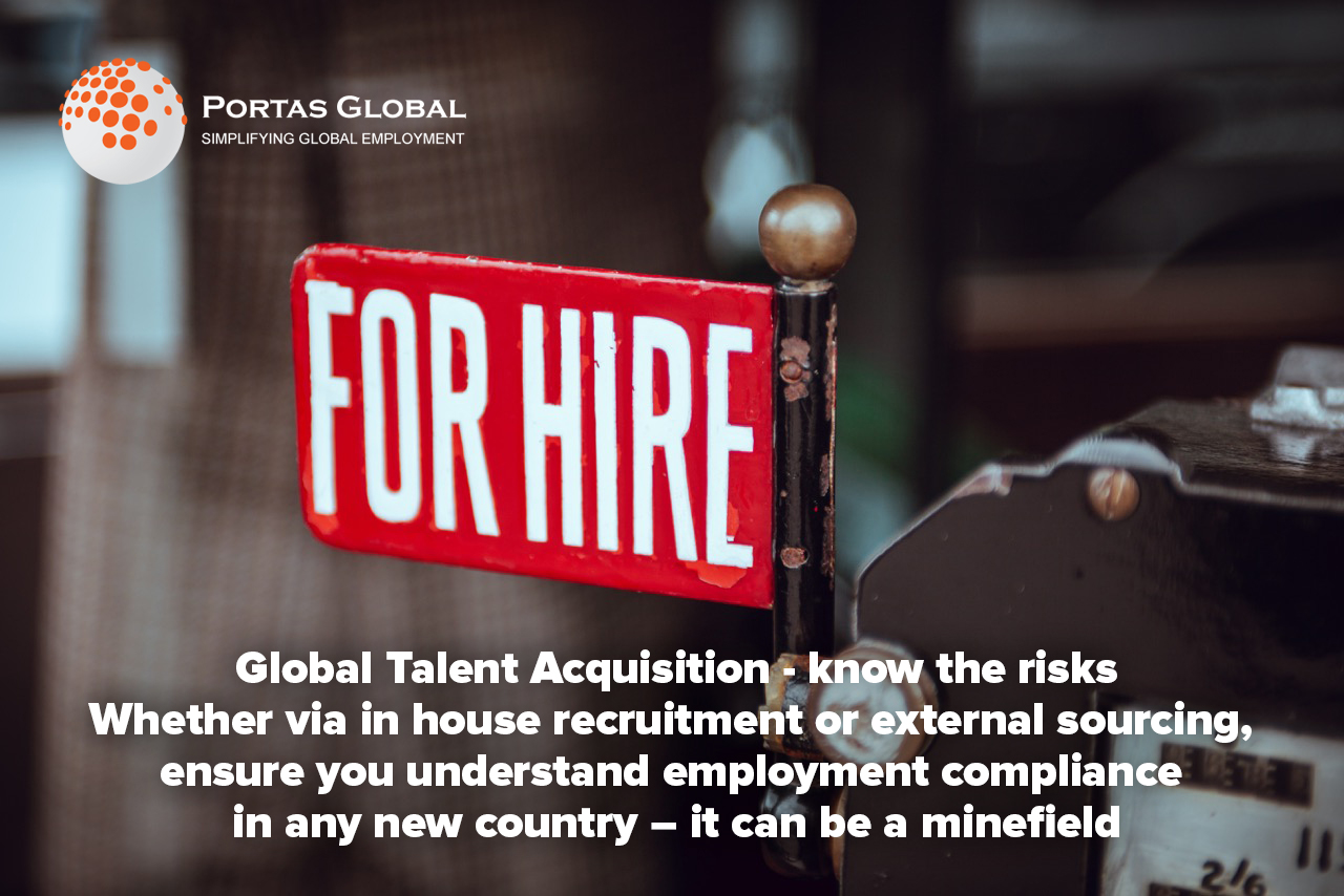Global talent acquisition